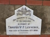 Ladysmith - Intombi Camp Cemetery - Grave - Trooper WP Lawrence - ILH -  Dec 4 1899
