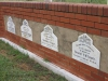 Ladysmith - Intombi Camp Cemetery - Graves - Multiple headstones (2)