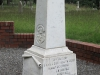 Ladysmith Garden of Remembrance Grave 13 th Battery several names