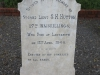 Ladysmith Garden of Remembrance Grave  2nd Lt SH Hutton 27th Inneskillings 1900