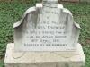 Ladysmith Garden of Remembrance Grave  7022 Lance Corporal James Fishwick