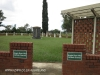 Ladysmith Garden of Remembrance Grave  Anglo Boer War entrance