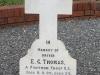 Ladysmith Garden of Remembrance Grave Driver EC Thomas Pontoon Troop RE
