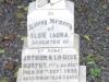 Ladysmith Garden of Remembrance Grave Elsie Murhy 1900 daughter of Sgt  Arthur Murphy