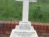 Ladysmith Garden of Remembrance Grave Lt CCD Fergusson Rifle Brigae 1899