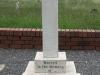 Ladysmith Garden of Remembrance Grave Major EW Gray RAMC 1899