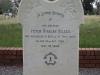 Ladysmith Garden of Remembrance Grave Peter Nilsen at Tinta Nyoni 1899 Border Mounted Rifles