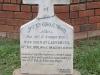 Ladysmith Garden of Remembrance Grave Pte C Wood NO 6160 East Surrey Regt 1900