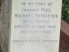 Ladysmith Garden of Remembrance Grave Trooper Paul Potgieter Natal Police 1910