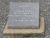 Ladysmith Garden of Remembrance Grave Trooper W Shaw 1900 of Enteric