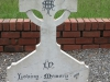 Ladysmith Garden of Remembrance Grave WS Thorpe 9th Lancers 1897