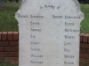 Ladysmith Garden of Remembrance Grave ist Batt Liecestershire Regiment during siege