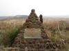 Platrand Wagon Hill Lt Digby Jones VC Monument cairn (1)