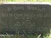Lidgetton St Mathews Church Cemetery Grave  Eileen Oxland 1984