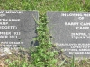 Lidgetton St Mathews Church Cemetery Grave  Elizabeth & Barry Camp