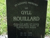 Lidgetton St Mathews Church Cemetery Grave  Gyll Rouillard