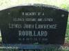 Lidgetton St Mathews Church Cemetery Grave  Lewis Rouillard