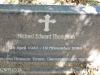 Lidgetton St Mathews Church Cemetery Grave  Michael Thompson