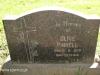 Lidgetton St Mathews Church Cemetery Grave Olive Pinnell