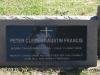 Lidgetton St Mathews Church Cemetery Grave  Peter Clement austin Francis