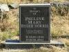 Lions Bush Farm Cemetery grave Pailine Mary morris