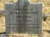 Lions Bush Farm Cemetery grave Peter McKenzie Brown 2004