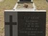 Grave Elfriede Bosse born Dedekind