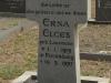 Grave Erna Elges