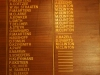 Mandini Sports Club - Honours Board -  (3)