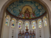 Mariazell - church interior and murals (2).