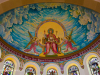 Mariazell - church interior and murals (3)