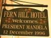 Midmar Fern Hill Hotel Nelson Mandela visit 1996 Freedom of Howick (2)