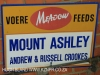 Mount Ashley sign