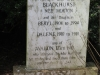 Tweedie Hall Cemetery grave Walter & Euphie Blackhurst (nee Morton). (1)