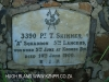 Besters - Pvt Skinner and infant child grave - No 3390 - A Squadron 5th Lancers - died 14 June 1900 - 28.26.29 S 29.39.45 E (3)