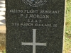 Dundee Cemetery - Grave -  102298 Flight Seargeant - PJ Morgan - SAAH 1944