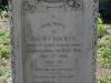 Durban - West Street Cemetery - Grave Sgt WJ York NFA 1900