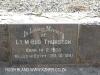 Himeville Cemetery - grave Lt  M Thurston - lilled Egypt 1941