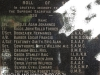Mtunzini Cemetery - Grave -  Roll of Honour 1939 to 1945