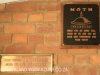 Swartberg Farmers Association MOTH plaque pilot officer IB Cooper 1941