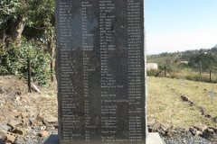 Military Monuments - Eshowe - Forts - Cemeteries - graves