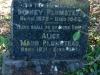 Mtunzini Cemetery - Grave - Sidney Plumstead 1943 & Alice