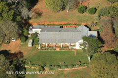 Natal Midlands Farms from the air