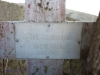 Nkandla Cemetery -  Military Grave - Trooper JA Hawkins - died of wounds 3 June 1906
