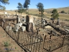 Nkandla Cemetery -  Military Graves - Collective view (3)