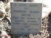 Nkandla Cemetery - Grave - Madelaine Jeanne Netter 1966 in Rhodesia