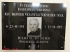 Nkandla - Holy Trinity Catholic Church - 28.37.425 S 31.05.254 E - Rev. V Schneider OSB - Plaque