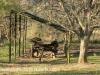 Fort Nottingham Museum 1856 old transport wagon (3)