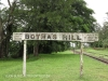 Bothas Hill Railway Station Sign -  R103 - S 29.45.15 E 30.44.40 Elev 741m (56)