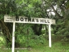 Bothas Hill Railway Station Sign -  R103 - S 29.45.15 E 30.44.40 Elev 741m (58)